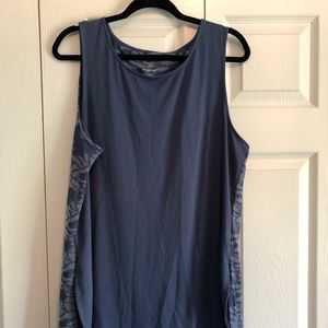 Patterned tank top with liner
